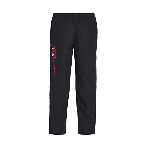 Canterbury Uglies Open Hem Stadium Pant - Girls - Jet Black - Age 5-6 by Canterbury