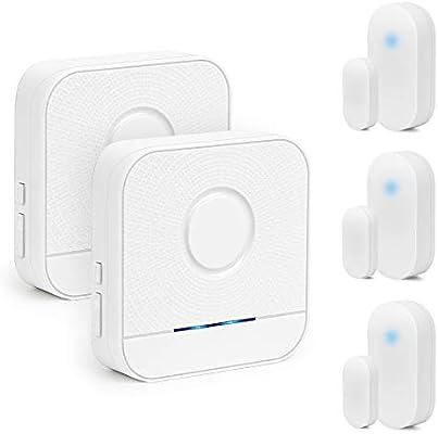 Bitiwend - Alarma inalámbrica para Sensor de Puerta, Alerta ...