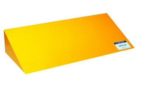 Justrite 25987 Safety Cabinet Cover, 42-1/2'' Width x 8-1/2'' Height x 18'' Depth, Yellow