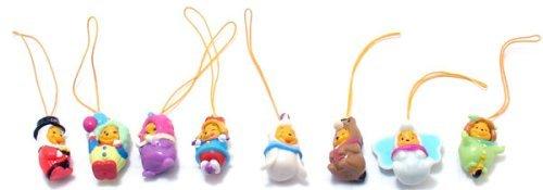 Winnie the Pooh Peek-a-Pooh #13 Circus Fun Capsule Toys Set of 8 vending ()