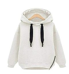 J&D WMHOODIES Hoodie Winter Oversized Hoodie Streetwear Women Long Sleeve Solid Color Hoodies at Amazon Womens Clothing store: