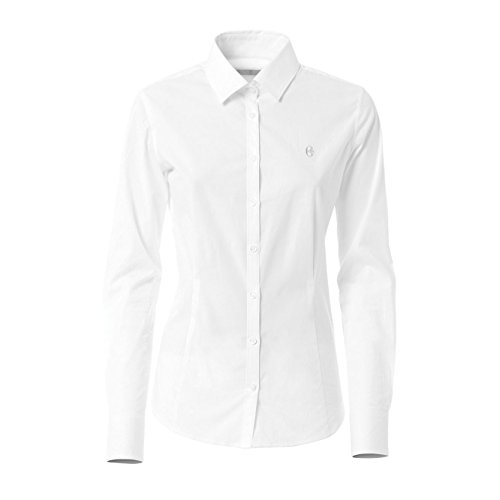 CONTE OF FLORENCE California Camisa, mujer, Bianco, XL Bianco