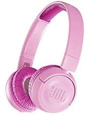 Jbl Jr300Bt Kinderhoofdtelefoon, Draadloze Bluetooth On-Ear Hoofdtelefoon Met Volumeregeling, Speciaal Ontwikkeld Voor Kinderen Roze
