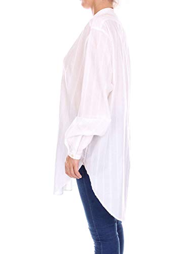 Blanco Laurent Mujer Camisa 508826y003s9601 Saint Lino 4U6qC