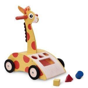 Giraffe Walker 'n Shape Sorter,Wonderworld Toys & Games