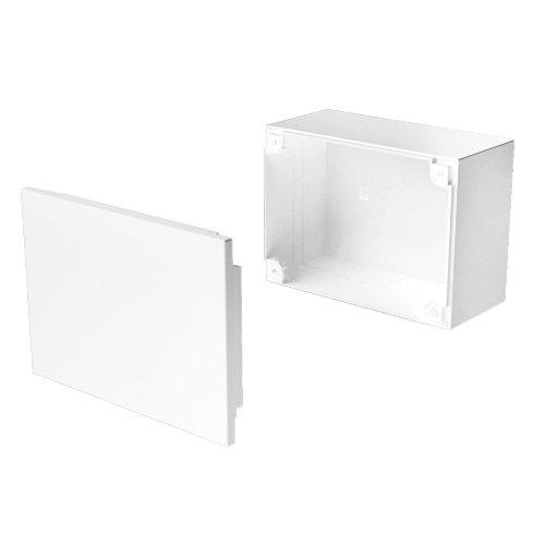 Blanco Unex 78457-2 U24X Caja de Conexi/ón Y Derivaci/ón 110 mm Ancho X 110 mm Altura