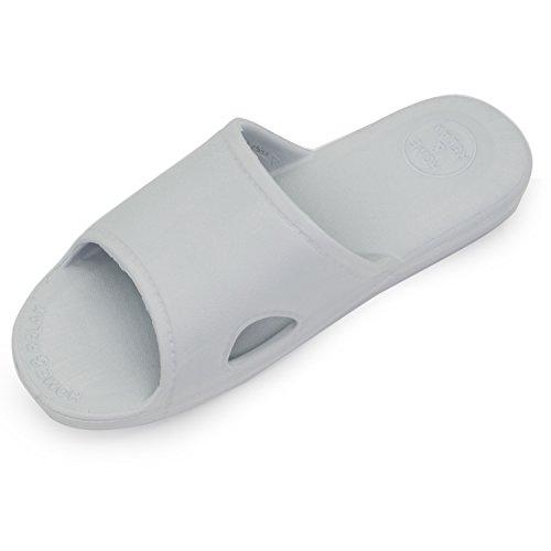 Pantofole Da Uomo Moodeng Pantofole Da Uomo E Da Donna Con Sandalo E Scivolo Da Bagno Scivolo Per Bagno Unisex Per Bagno Grigio