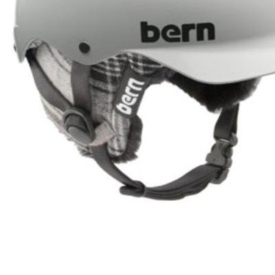 Bern 2013 Men's EPS Knit Winter Helmet Upgrade Kit (Plaid Knit – S), Outdoor Stuffs