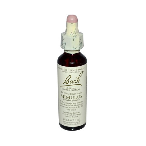 Bach Flower Remedies Essence Mimulus -- 0.7 fl oz