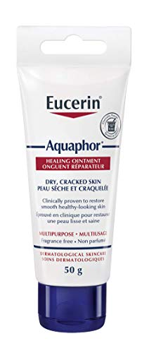 EUCERIN Aquaphor Multipurpose Healing Ointment for Extremely Dry, Cracked Skin (50g), Moisturizing Ointment and Hand…