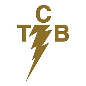 "TCB Elvis GOLD - 5"" GOLD vinyl window decal sticker - NOTEBOOK, LAPTOP"