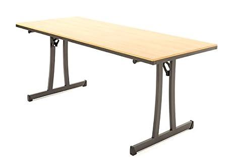 Brilliant Amazon Com Mitylite Reveal Table 30 X 72 Fusion Maple Interior Design Ideas Gentotryabchikinfo