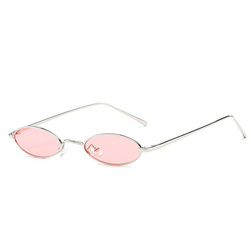 Small Red Retro Yellow Vintage Sunglasses For Oval Frame Sun Women For Glasses Men Small Male Round Pink Metal z4rz8q