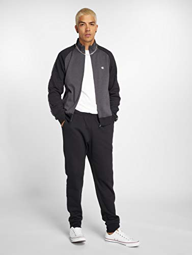 Champion Hombres Full Gris Chándales Athletics Zip SUrWSz