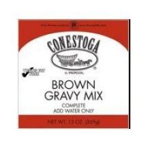 Conestoga Brown Gravy Mix, 13 Ounce - 6 per case.