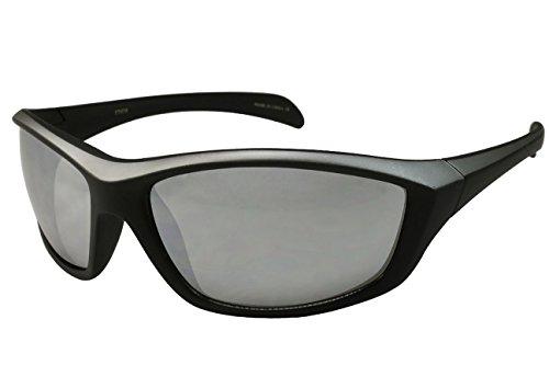 Edge I-Wear Rock Hopper Sports Sunglasses with High Definition Color Mirror Lens 570036TT-REV-4 (Matte - Wear Sunglasses Rock