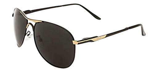 HD soleil soleil de Polaroid Eyewear Lunettes mode JYR ultraviolets marée anti Unisexe Gris Or Aviator Lunettes de 5nfwH8