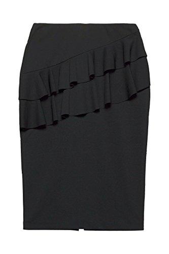 001 Collection ESPRIT Black Jupe Femme Noir wHPnZ7XqW