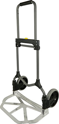 Welcom MC2S Magna Cart Elite 200 lb Capacity Folding Hand Truck, Silver, Frustration-Free Packaging (Folding Dolly Utility)
