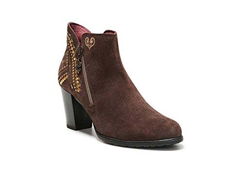 Desigual Shoes_Frida Studs, Bottes Chelsea Femme Marron