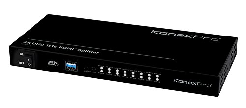 Kanex Pro HDSP164K 4K HDMI 16-Port Distribution Amplifier