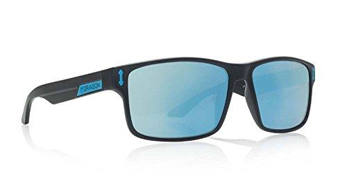 Dragon Count Sunglasses, Matte Black H2O/Sky Blue Ion - Dragon Sunglasses Black