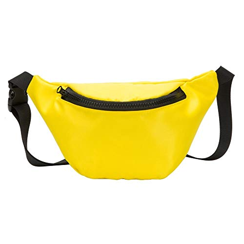 Fashion Children's Bag Waist Bag Chest Bag,Outsta Coin Purse Snack Pack Zipper Fanny Classic Daypack Travel (Yellow) by Outsta Bags (Image #6)