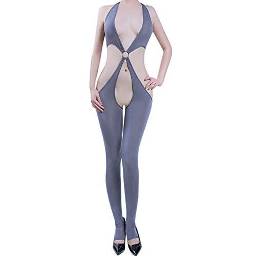 Women's Sexy Sleepwear, Open Crotch Mesh Body Stockings Bodysuits Lingerie by JMETRIE -