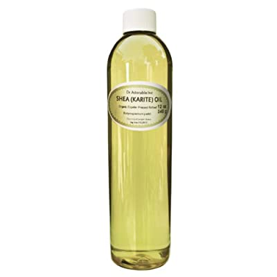 Shea Karite Oil Refined Pure Organic 12 Oz by Dr Adorable Inc