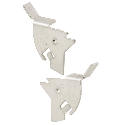 Prime-Line L 5561 Swivel Window Screen Knife Latches, Mill Finish, 3-Pack