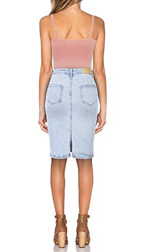 Camiseta Ajustable Sin Mujer Blanco Tanktop Con Correa Mangas Sujetador rosa gris pdnqSw