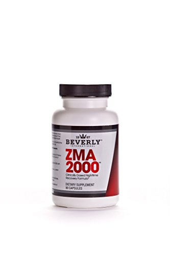 Beverly International ZMA 2000, 90 capsules. This is what it feels like when you sleep deeply the whole night Beverly International Vitamins Supplements