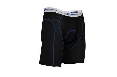 Zone Long-Ride Performance Shorts with Coolmax Padding for Motorcycle Riders (Medium - Waist Size 35-40)
