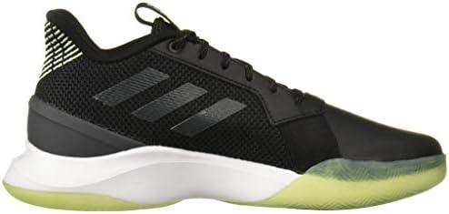 adidas Men's RunTheGame Running Shoe, Black/Grey/Glow Green, 11 M US