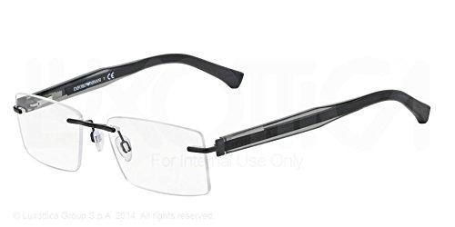 ce03d01ee5f EMPORIO ARMANI EA 1013 Eyeglasses 3008 Black 54-17-140  Amazon.co.uk   Clothing