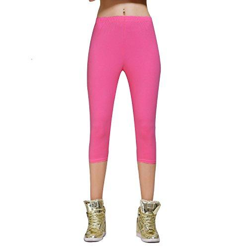 Stretch Cotton Capri Leggings Tights product image