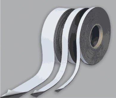 Magna Visual P-180 .03in. x 2in. x 100ft. Roll Magnetic strips with adhesive backing