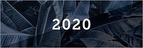 Wire-O-Bindung Tischkalender 2020 schwarz Quer Karton Querkalender Querterminbuch 2020 Adress-Notizseiten 112 Seiten 297 x 130 mm inkl Terminkalender .. 1 Woche auf 2 Seiten