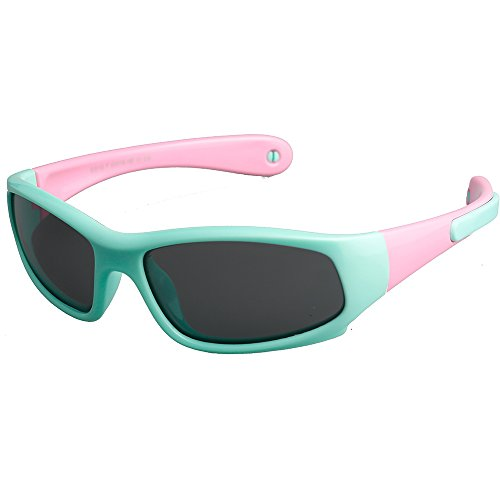 Kids Sports Polarized Sunglasses Gifts for Boys /Girls/Child Glasses with - Sunglasses Toddlers Best For