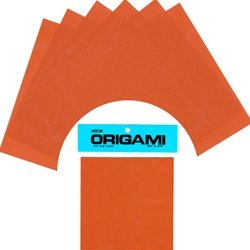 """Solid Color Origami Paper- BROWN 6"""""""