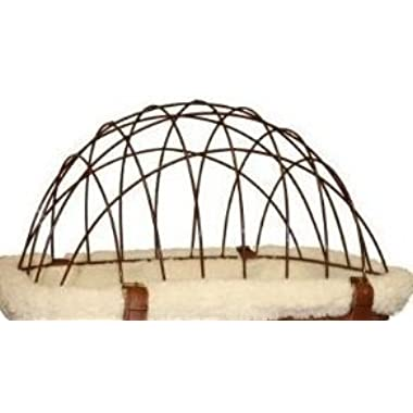 Solvit 69996 Wire Safety Cage Top only (BASKET SOLD SEPARATELY) - Made for Wicker Bicycle Basket