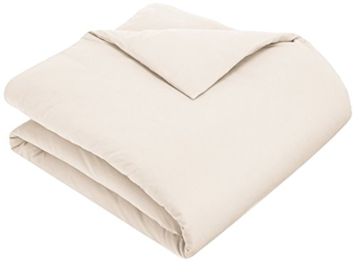 Pinzon 170 Gram Flannel Duvet Cover - Twin, Cream
