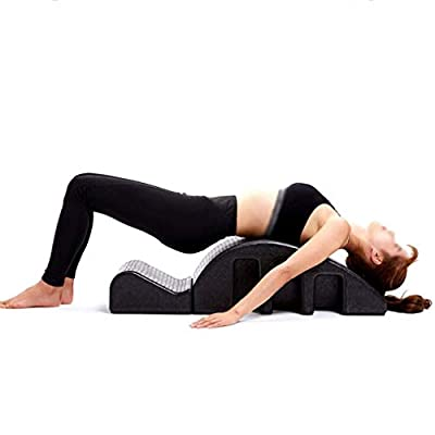 Pilates Yoga Wedge Spine Corrector Back Pain Relief Massage Table Fitness Equipment Cervical Correction Kyphosis Yoga Foam Arc