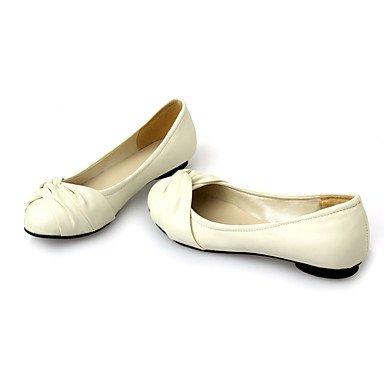 Cómodo y elegante soporte de zapatos de las mujeres pisos primavera verano otoño invierno otros cuero sintético oficina y carrera parte y vestido de noche soporte de talón negro azul amarillo rosa bei amarillo