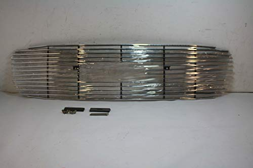 Putco 71102 Shadow Mirror Polished Aluminum Grille GMC Yukon