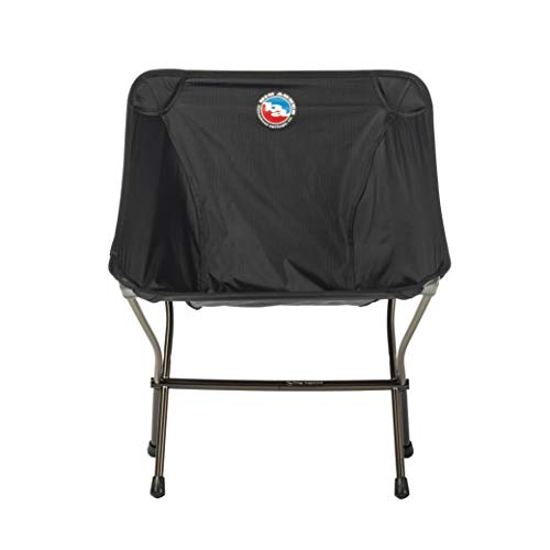 Big Agnes Skyline UL Ultralight Backpacking Chair & Stool, Chair (Black)