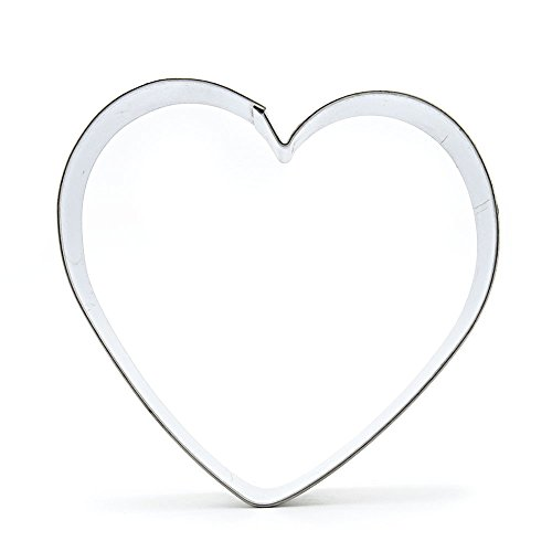 Metal Biscuit Pastry Cookie Cutter Jelly Craft Fondant DIY Kitchen Baking Tool Sandwiches A084 Big Heart shape by ebemallmall Cookie Cutters