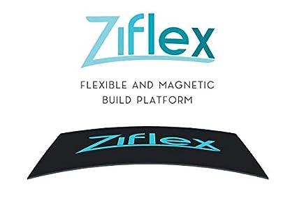 Plateforme dimpression 3D flexible et magn/étique Forte adh/érence et retrait simplif/é Ziflex 120 * 120 mm