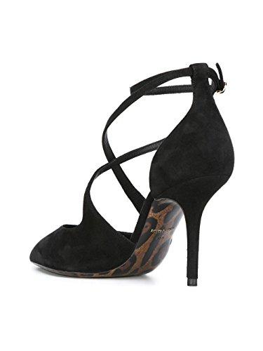 Heels E Black Gabbana Women's Dolce CD0660AC78480999 Suede WpTPax4qY