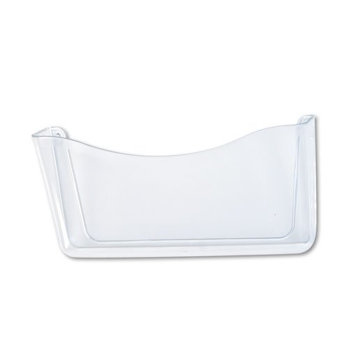 Unbreakable Single Pocket Wall File, Letter, Clear, Sold as 1 Each